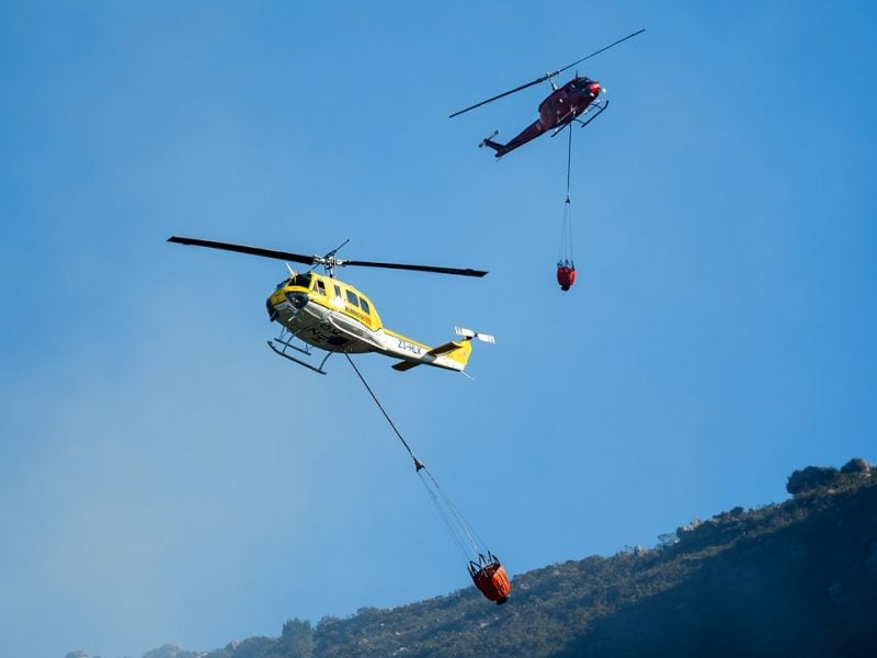 Fire Fighting Helicopters